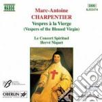 Vespri della beata vergine cd musicale di Marc-ant Charpentier