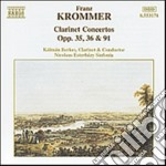 Krommer Franz - Concerti X Clar Op.56, Concerto X 2 Clar Op.35, Op.91 cd musicale di Franz Krommer