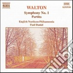 Sinfonia n.1, partita cd musicale di William Walton