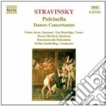 Pulcinella, danses concertantes cd musicale di Igor Stravinsky