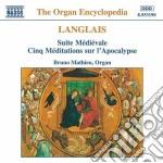Suite medievale, 5 meditations sur l'apo cd musicale di Jean Langlais