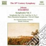 Sinfonie (integrale) vol.1 cd musicale di Johann Stamitz