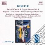 Corali e opera per organo, vol.1 cd musicale di Maurice Durufle'