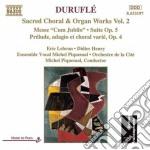 Corali e opera per organo, vol.2 cd musicale di Maurice Durufle'