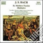 Passione secondo matteo (estratti) cd musicale di Johann Sebastian Bach