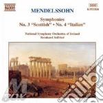 SYMP.N.3 SCOTTISH/N.4 ITALIAN cd musicale di Felix Mendelssohn