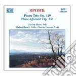 Trio x pf e archi op.119, quintetto op.1 cd musicale di Louis Spohr