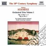 Trii x orchestra vol.1: n.1 > n.3 op.1, cd musicale di Johann Stamitz