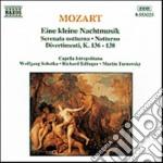 Eine kleine nachtmisik k 525, serenata n cd musicale di Wolfgang Amadeus Mozart