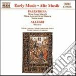 Missa papae marcelli cd musicale di Giovanni Palestrina