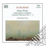 Impromptus - moments musicaux d.780 cd musicale di Franz Schubert