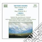 Concerto x pf n.2 op.40 cd musicale di Felix Mendelssohn