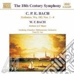 SINFONIE NN.1-4, SINFONIA WQ 183          cd musicale di BACH CARL PHILIP EMA