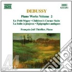 Piano works vol.2 cd musicale di DEBUSSY