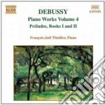 Opere x pf vol.4: preludi (primo e secon cd musicale di Claude Debussy