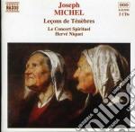 Lecons de tenebres cd musicale di Josepf Michel