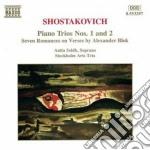 Trii x pf e archi (opp.8 e 67), 7 romanz cd musicale di Dmitri Sciostakovic