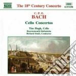 Concerti per violoncello: wq 170-172 cd musicale di Bach carl philip ema