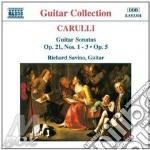 Guitar sonatas opp.5&21 cd musicale di CARULLI