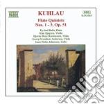 Quintetti x fl e archi op.51 nn.1>3 cd musicale di Friedrich Kuhlau