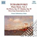 Tchaikovsky - Piano Music Vol.2 cd musicale di Ciaikovski pyotr il'