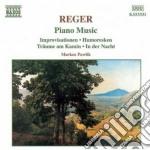 Opere x pf: improvisationen op.18, humor cd musicale di Max Reger