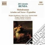 Arianna a nasso, pigmalione cd musicale di Frantisek Benda