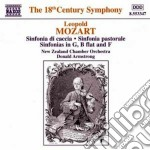 Sinfonia in sol magg, in si bemolle magg cd musicale di Leopold Mozart