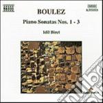Sonata x pf n.1 > n.3 cd musicale di Pierre Boulez