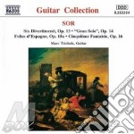 Guitar music opp.13,14,15 cd musicale di SOR