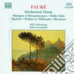 Opere x orchestra: masques et bergamasqu cd musicale di Gabriel Faure'