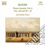 Sonate x pf (integrale) vol.6: sonate n. cd musicale di Haydn franz joseph