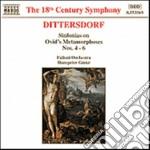 Sinfonias n.4/6 cd musicale di Dittersdorf