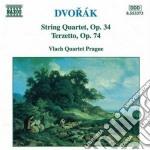 Quartetto x archi n.9 op.34, terzetto op cd musicale di Antonin Dvorak