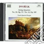 Dvorak Antonin - Quartetto N.10 Op.51, N.14 Op.105 cd musicale di Antonin Dvorak