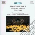 Opere x pf vol. 5 (integrale): melodie n cd musicale di Edvard Grieg