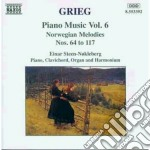 Opere x pf vol. 6 (integrale): melodie n cd musicale di Edvard Grieg