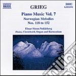Opere x pf vol. 7 (integrale): melodie n cd musicale di Edvard Grieg