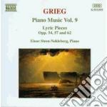 Opere x pf vol. 9 (integrale): pezzi lir cd musicale di Edvard Grieg