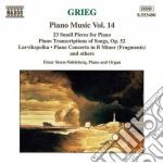 Opere x pf vol.14 (integrale): 23 piccol cd musicale di Edvard Grieg
