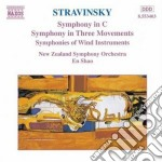 Sinfonia in do, sinfonia in 3 movimenti, cd musicale di Igor Stravinsky