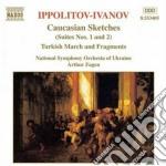 Schizzi caucasici (caucasian sketches, s cd musicale di Ivanov Ippolitov