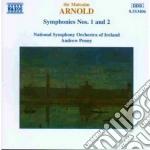 Sinfonia n.1 op.22, n.2 op.40 cd musicale di Malcolm Arnold