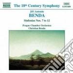 Sinfonia n.7 > n.12 cd musicale di Frantisek Benda