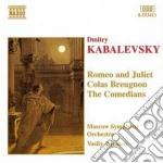 Romeo e giulietta, colas breugnon, i com cd musicale di Kabalevsky dmitry bo