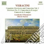 Complete overture and conc cd musicale di VARACINI