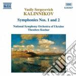 Sinfonia n.1, n.2 cd musicale di Kalinnikov