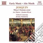 MISSA L'HOMME ARME' cd musicale di Josquin Desprez