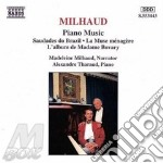 Piano music cd musicale di MILHAUD