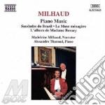 Piano music cd musicale di MILHAUD